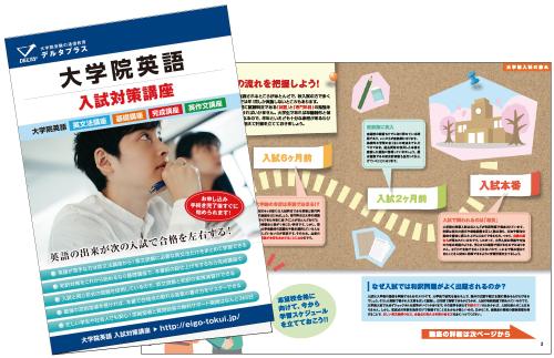 大学院英語 入試対策講座 資料パンフレット